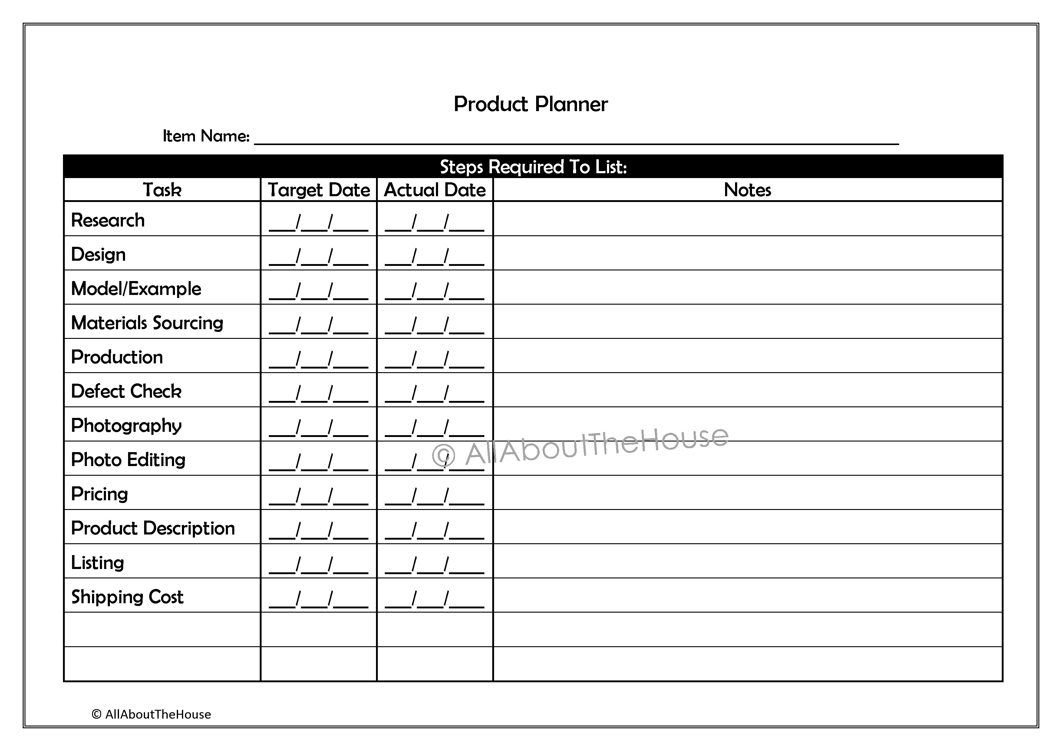194. Product Planner p.1