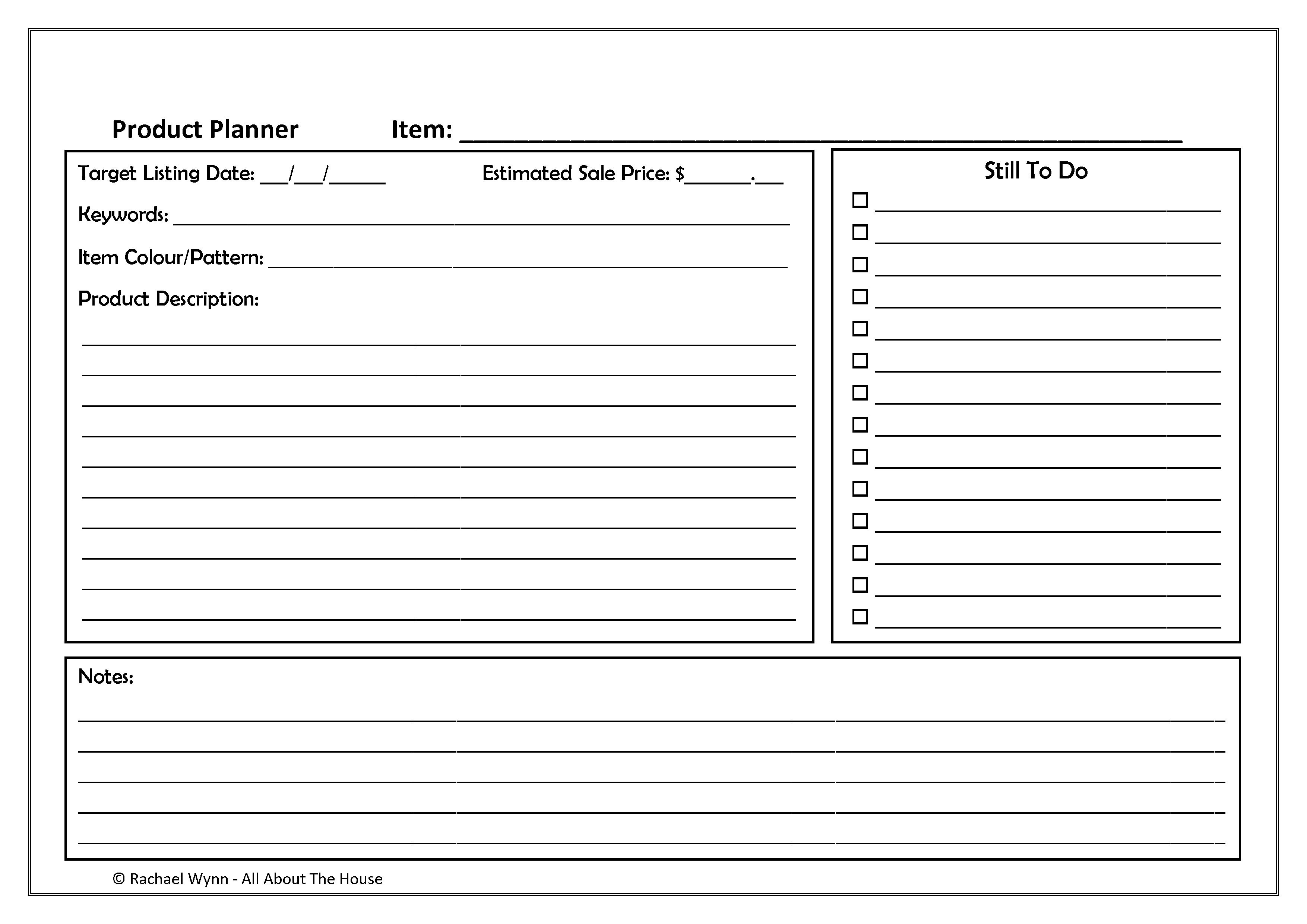 194. Product Planner p.2