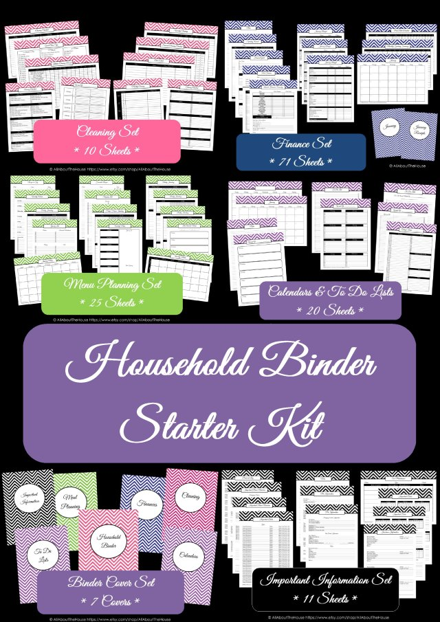 Household Binder Starter(13)