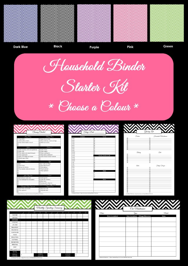 Household Binder Starter(4)