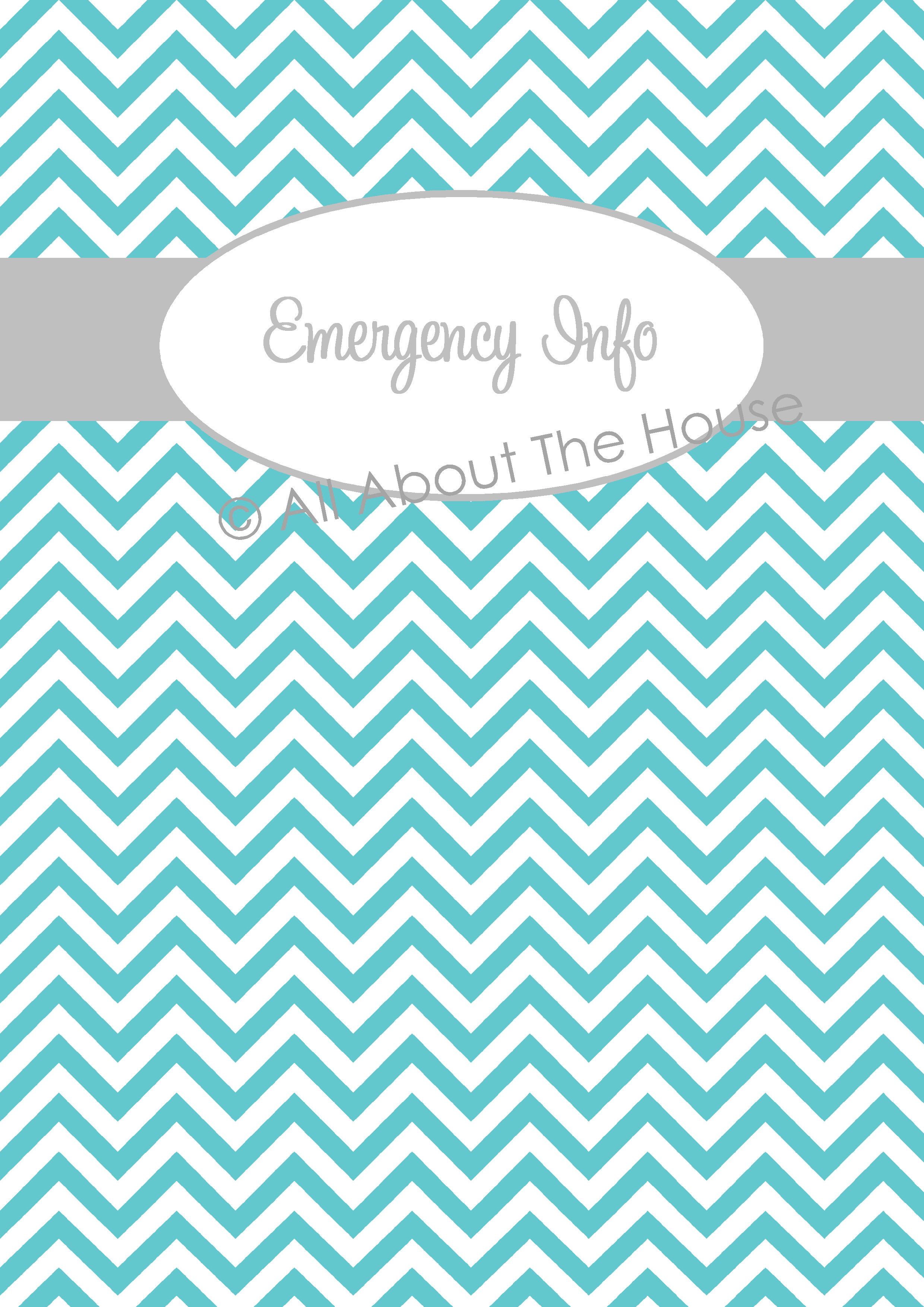 chevron recipe binder