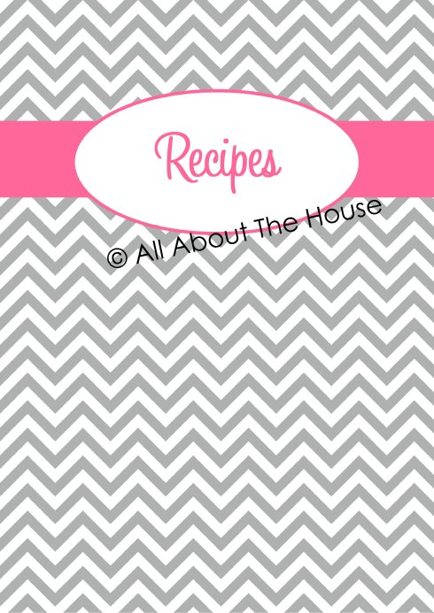 Grey Chevron Binder Cover Page - Option 1(1)