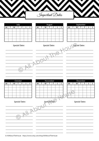 Important Dates - Monthly - Black(1)