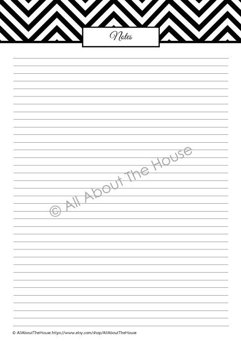 Note Paper - Black(1)