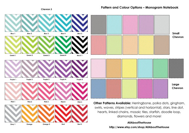 monogram notebook - chevron swatches(1)