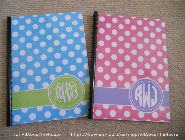 Polka Dot Notebooks 2