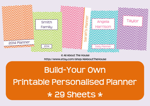 Build Your Own Planner