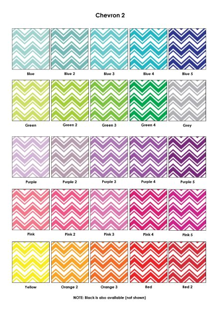 Chevron 2 Colour Swatch