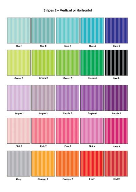 Colour Swatches - Stripes 2