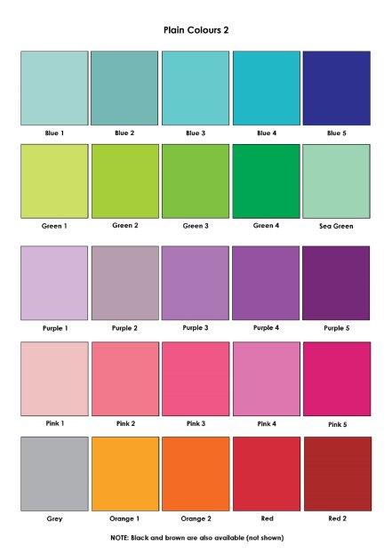Plain Colours 2