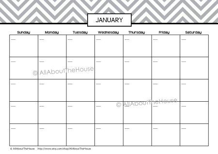 Planner - Landscape Calendar