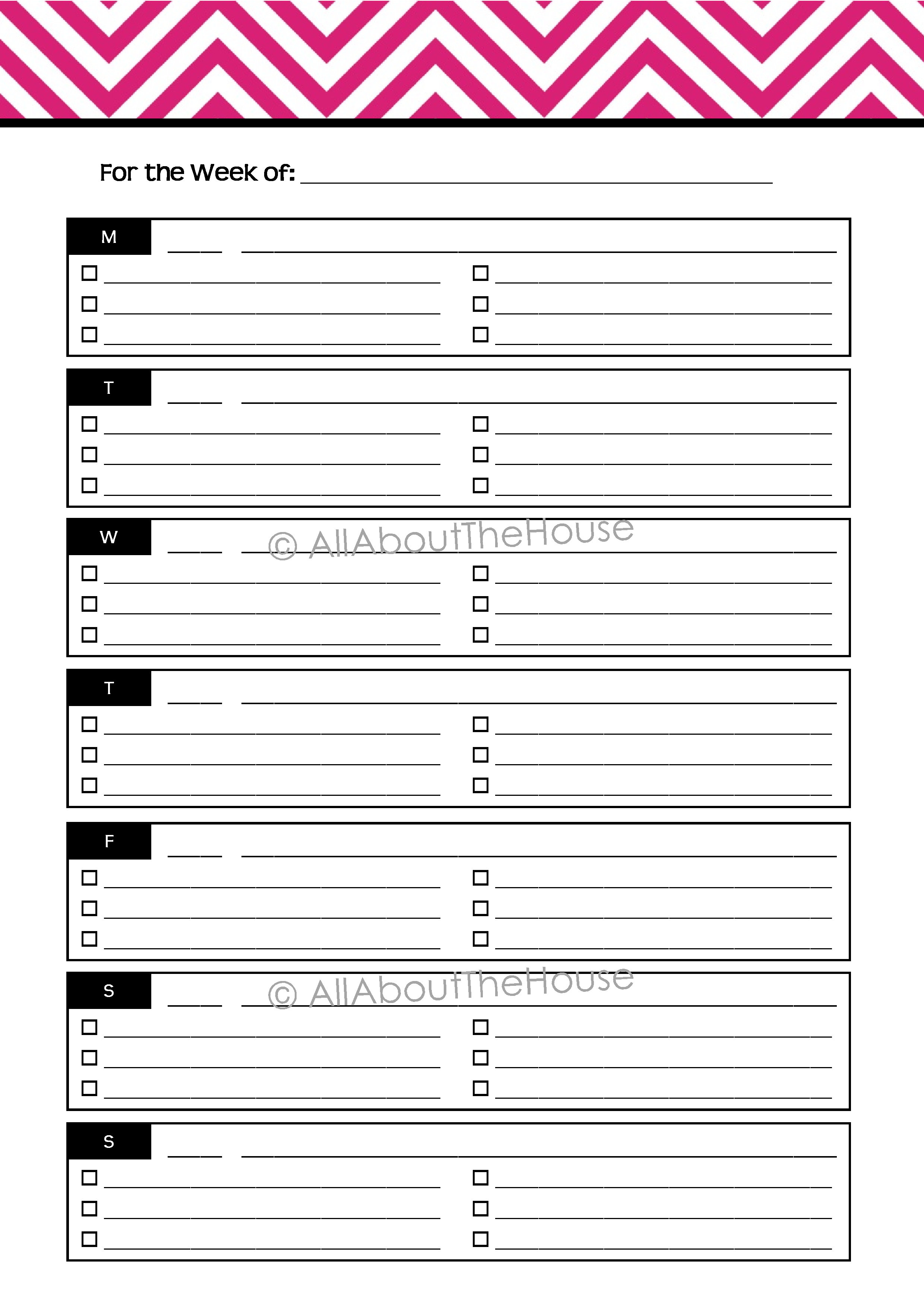 Planner - Option 4 - AllAboutTheHouse