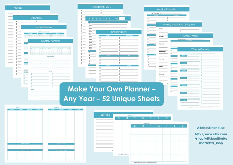 437 Make Your Own Planner Allaboutthehouse