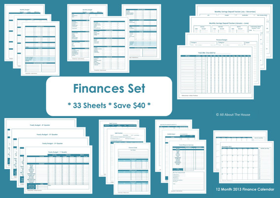 finance binder simple planner series