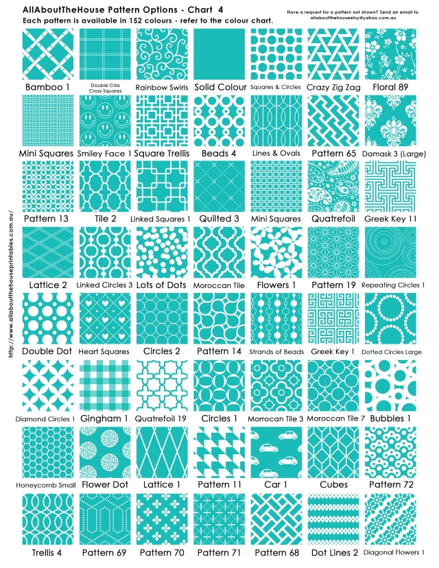 Pattern Chart 4 AllAboutTheHouse Printables