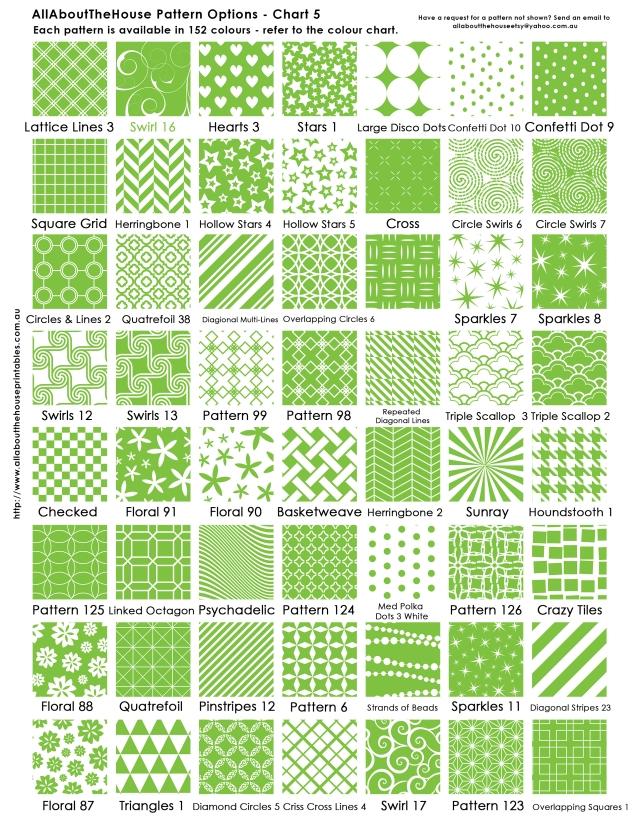 Pattern Chart 5 AllAboutTheHouse