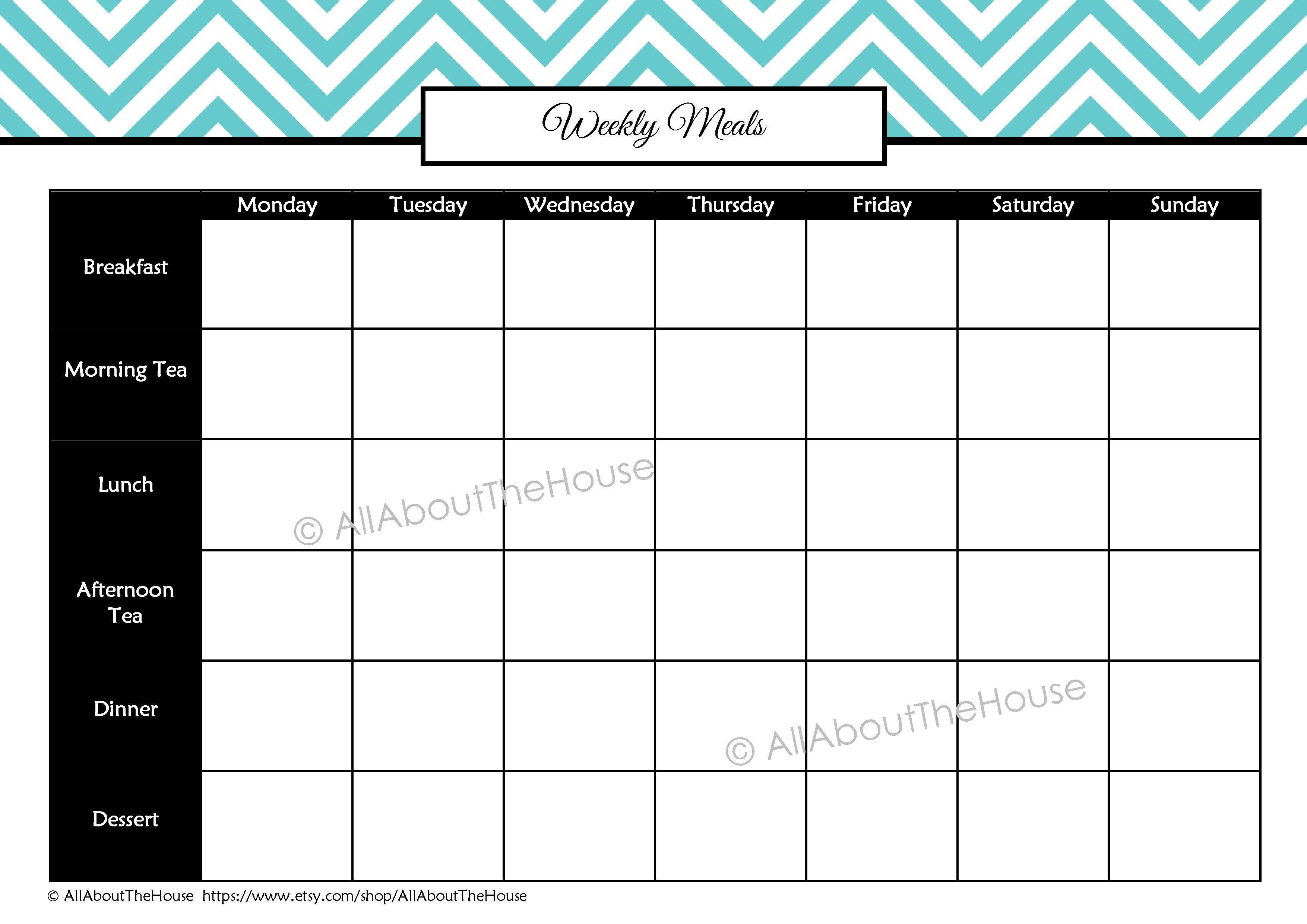 health and fitness printables kit allaboutthehouse printables