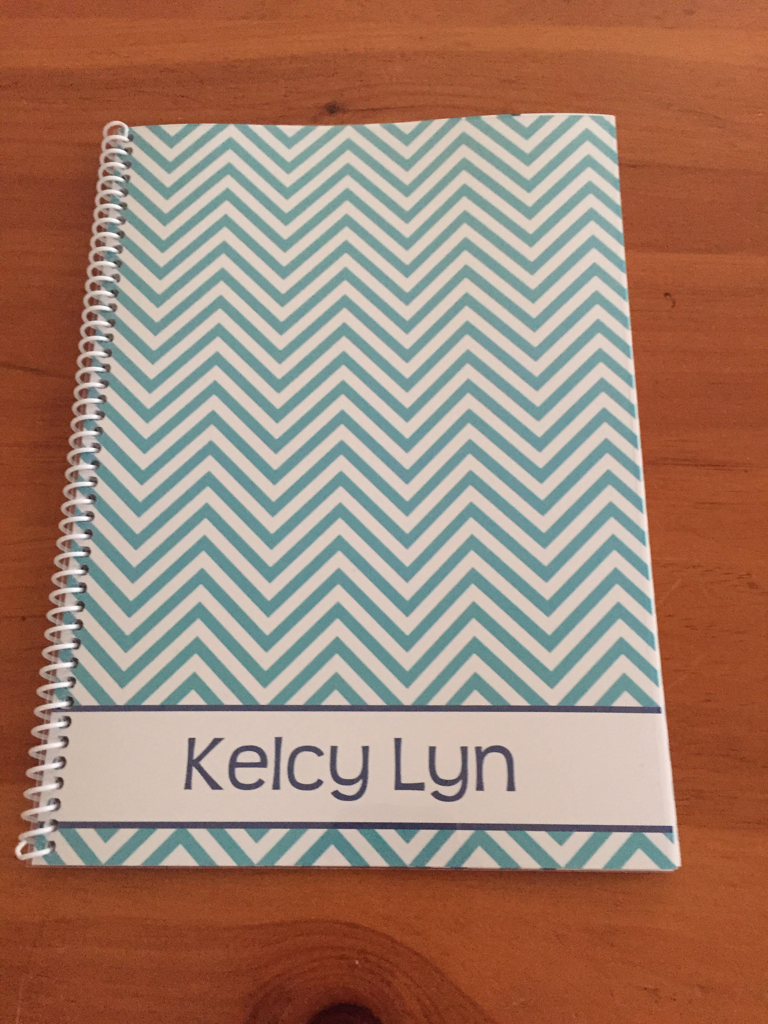 chevron make your own planner cover printable binder cover