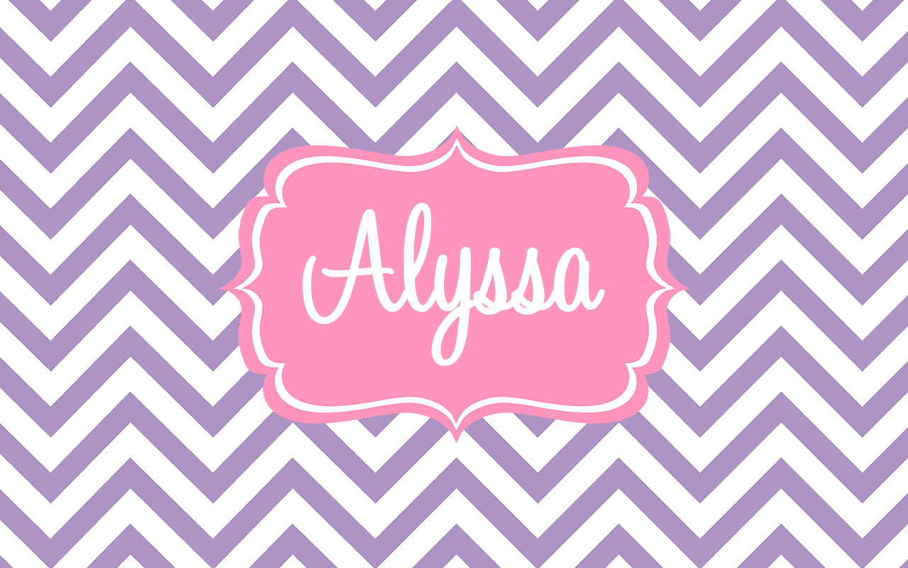 Alyssa Name Wallpaper