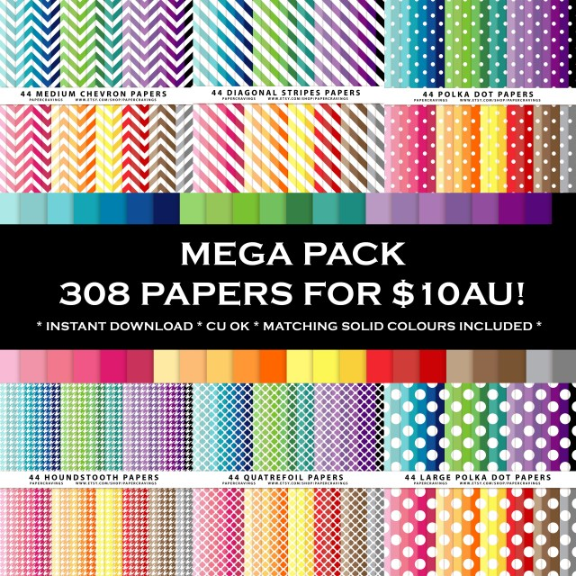 PC - mega paper pack bundle 1
