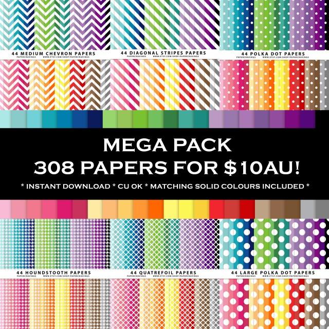 PC - mega paper pack bundle 1