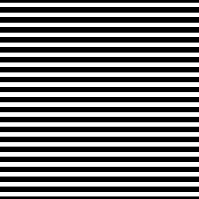 AATH - Horizontal Stripes Black