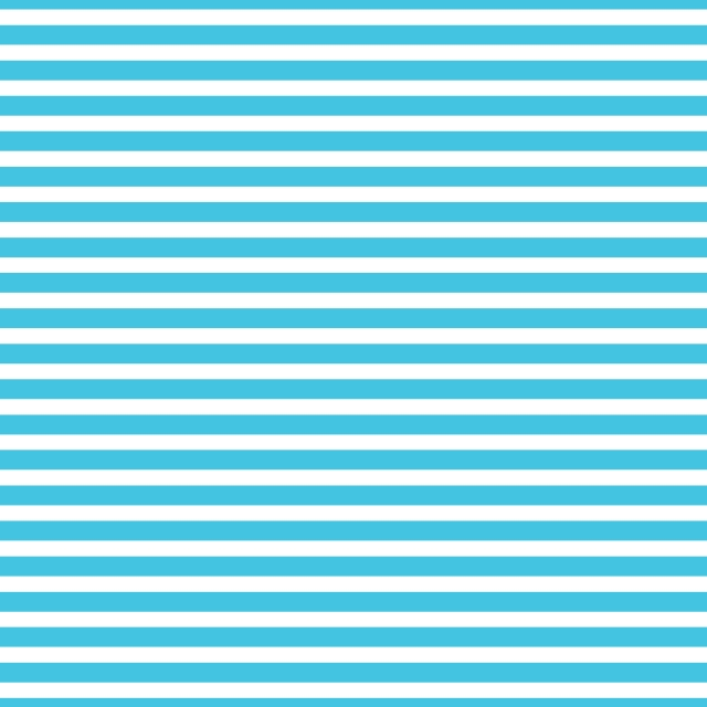 AATH - Horizontal Stripes Blue