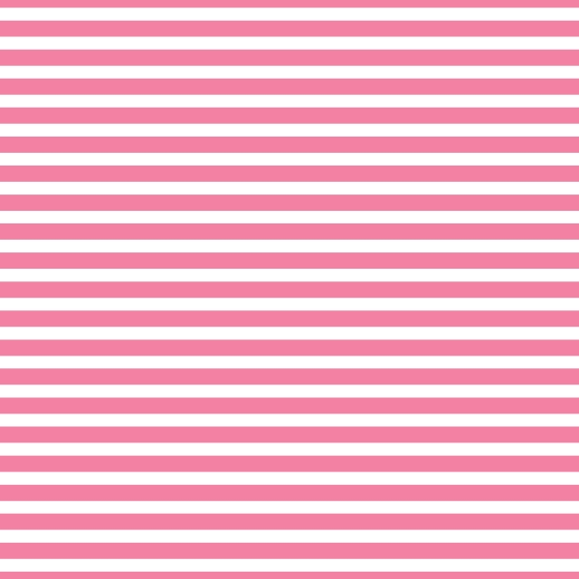 AATH - Horizontal Stripes Light Pink