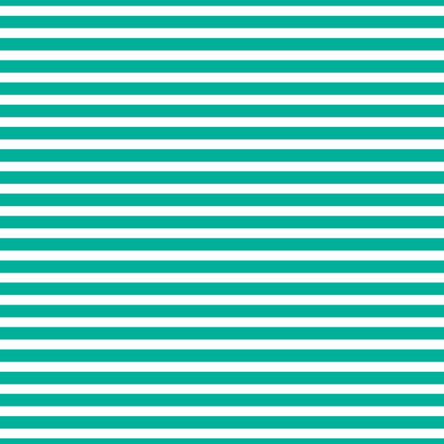 AATH - Horizontal Stripes Teal
