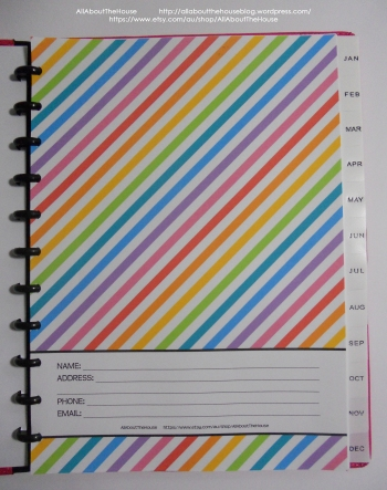 Belongs to rainbow planner