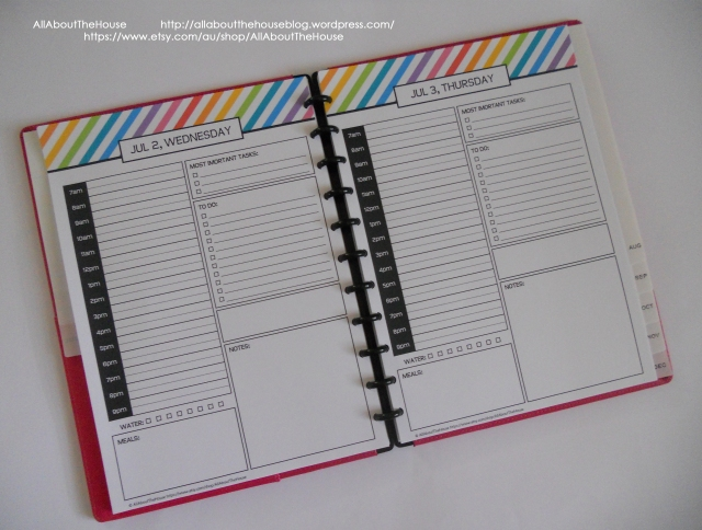 Daily Planner 2014 2015