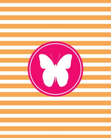 Free Butterfly wall art