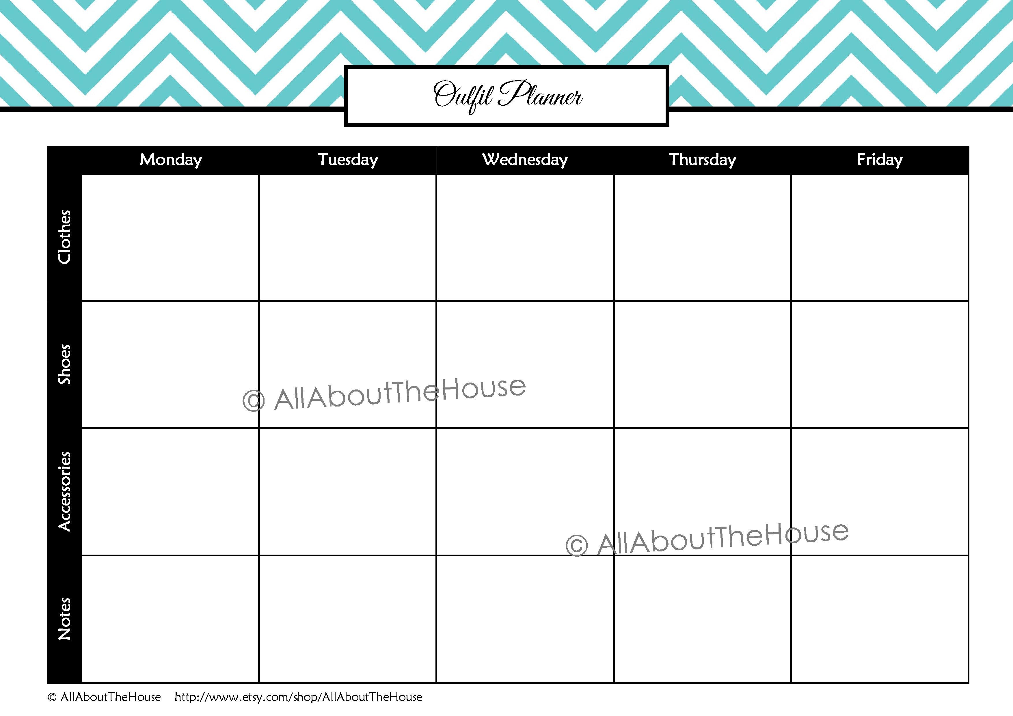 student planner  u2013 editable