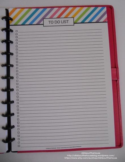 Rainbow To Do Checklist