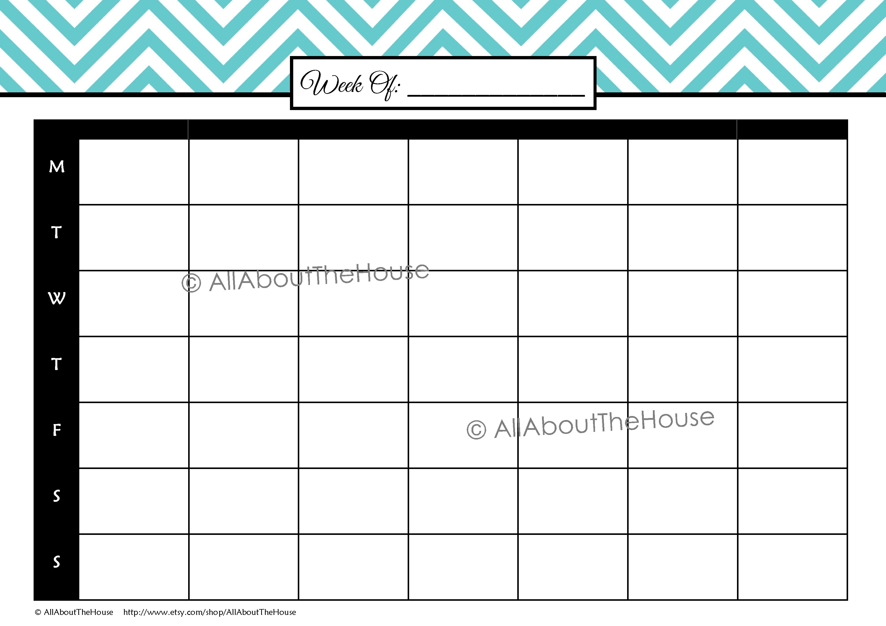 study planner allaboutthehouse printables you choose planner l blue