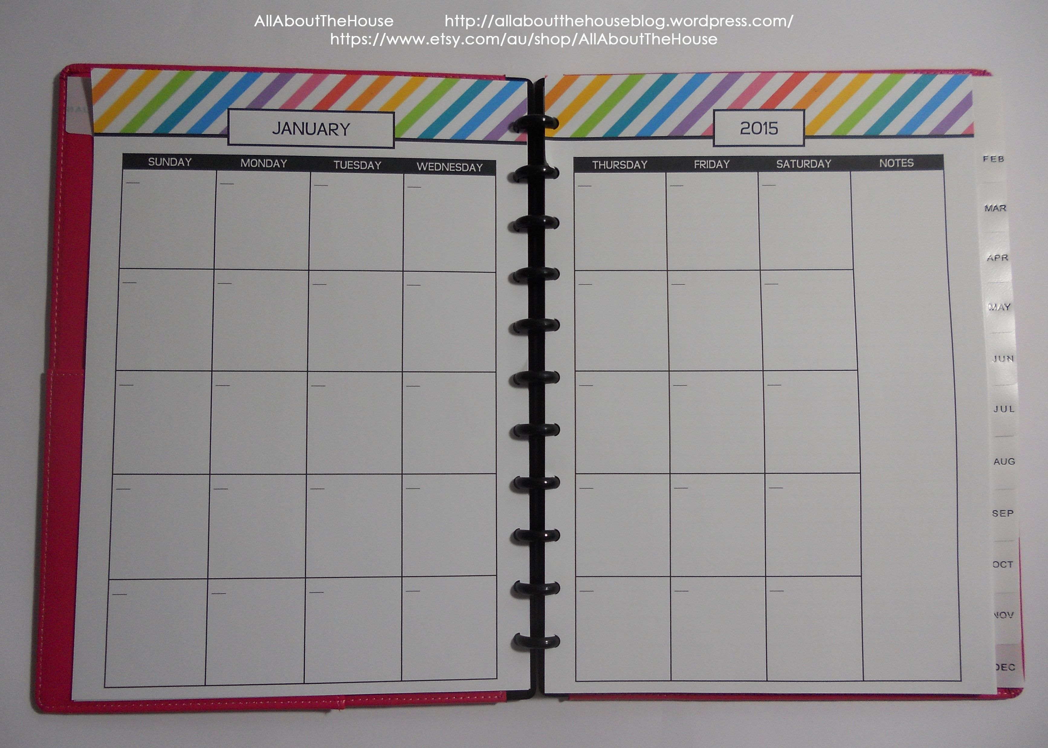 Arc Calendar Printables : Arc notebook allaboutthehouse printables
