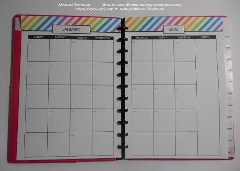 Rainbow 2015 calendar