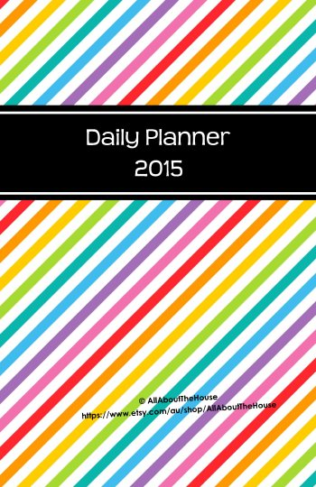 2015 Rainbow Planner - Cover - Half Size(2)