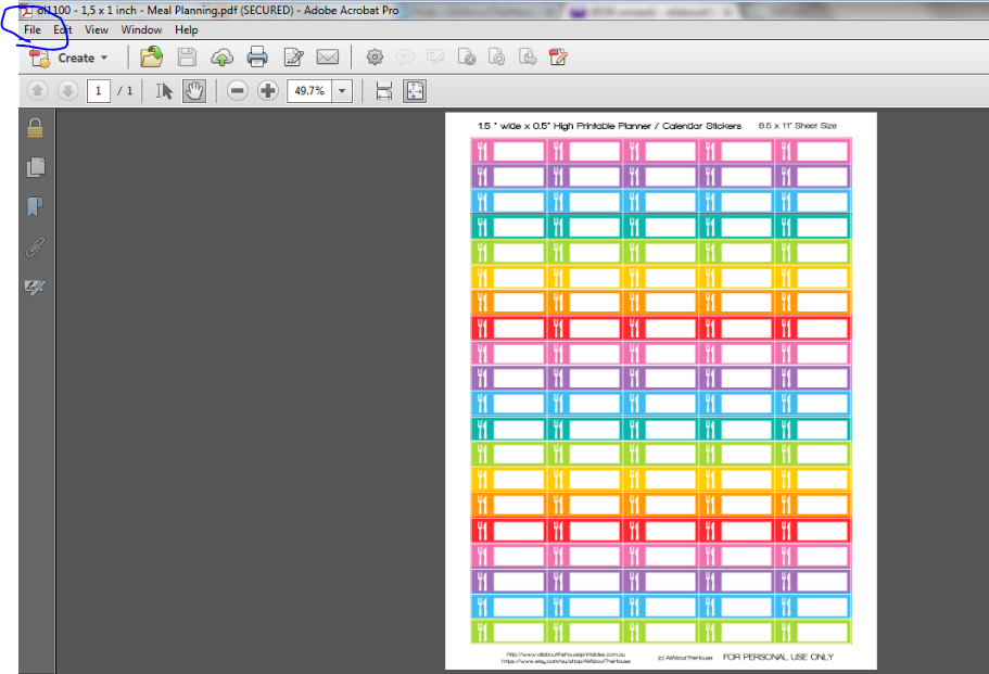 photo regarding Printable Calendar Stickers referred to as Printable Planner Stickers - All Relating to Planners