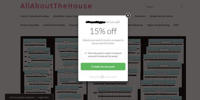 allaboutthehouse rewards program