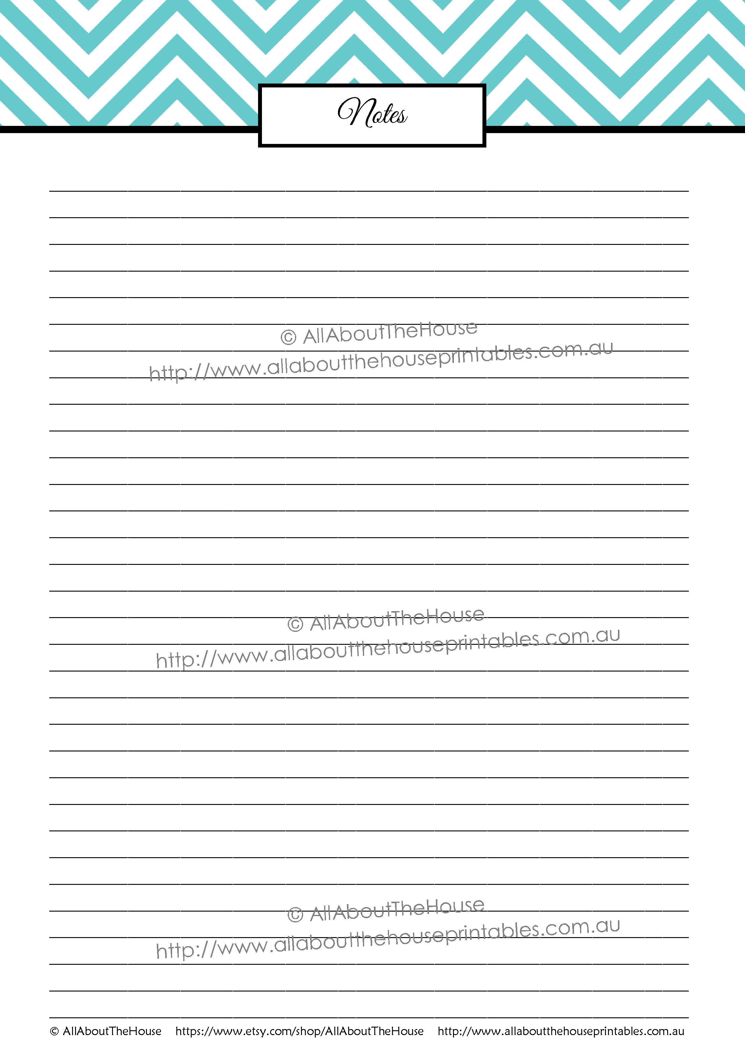 graphic about Letter Paper Printable referred to as Notice Paper printable chevron editable pdf letter measurement