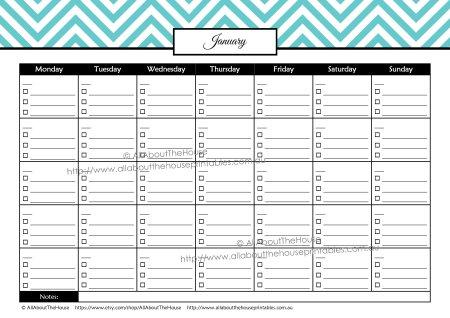 paid bill payment calendar checklist budget binder money management organizer planner finances debt tracker editable printable chevron home binder household binder family notebook