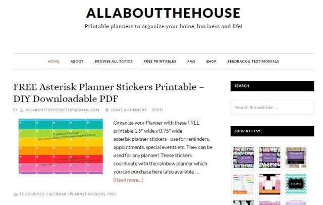 new website allaboutthehouse